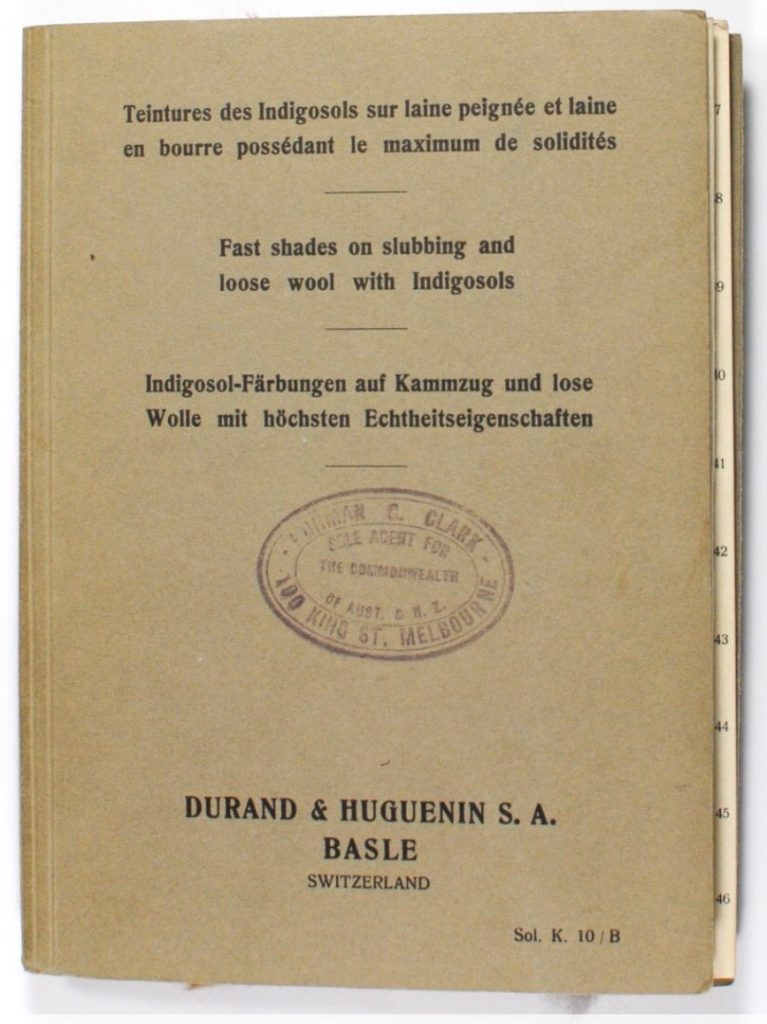 Durand and Huguenin sample catalogues