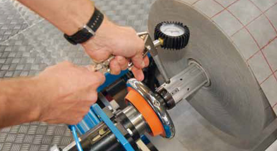 IBD Boschert Safety Chuck In Use