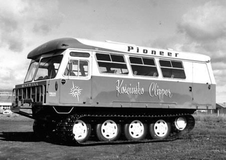 Ansett-Pioneer Nodwell bus