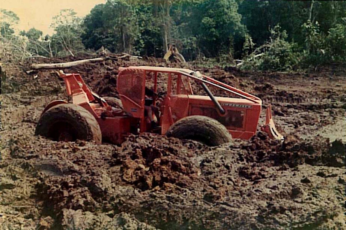 Timberjack in Hardwood and Mud