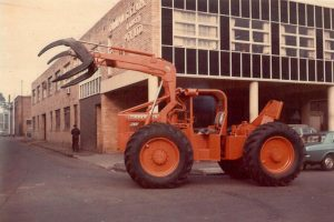 Timberjack Skidder/Loader Outside Barkly Street Brunswick Office